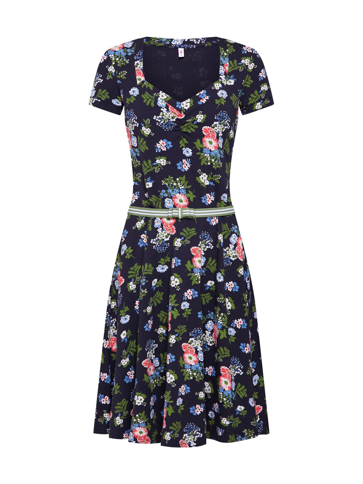 Letní šaty Mze Kze mix barev černá Blutsgeschwister