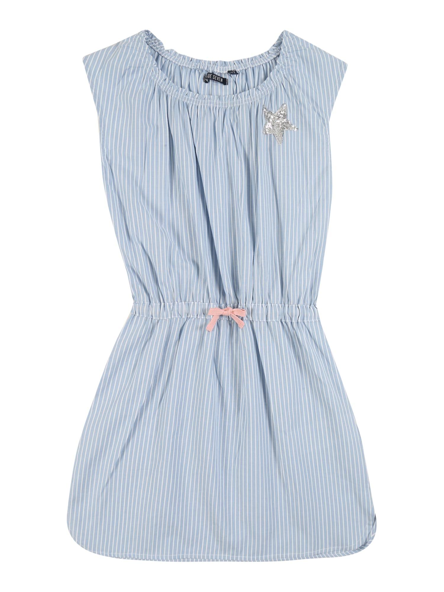 BLUE SEVEN Suknelė mėlyna / balta