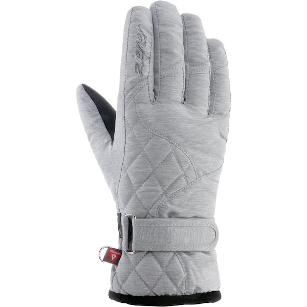 Handschuhe für Frauen - ZIENER Skihandschuhe 'Keysa' graumeliert  - Onlineshop ABOUT YOU