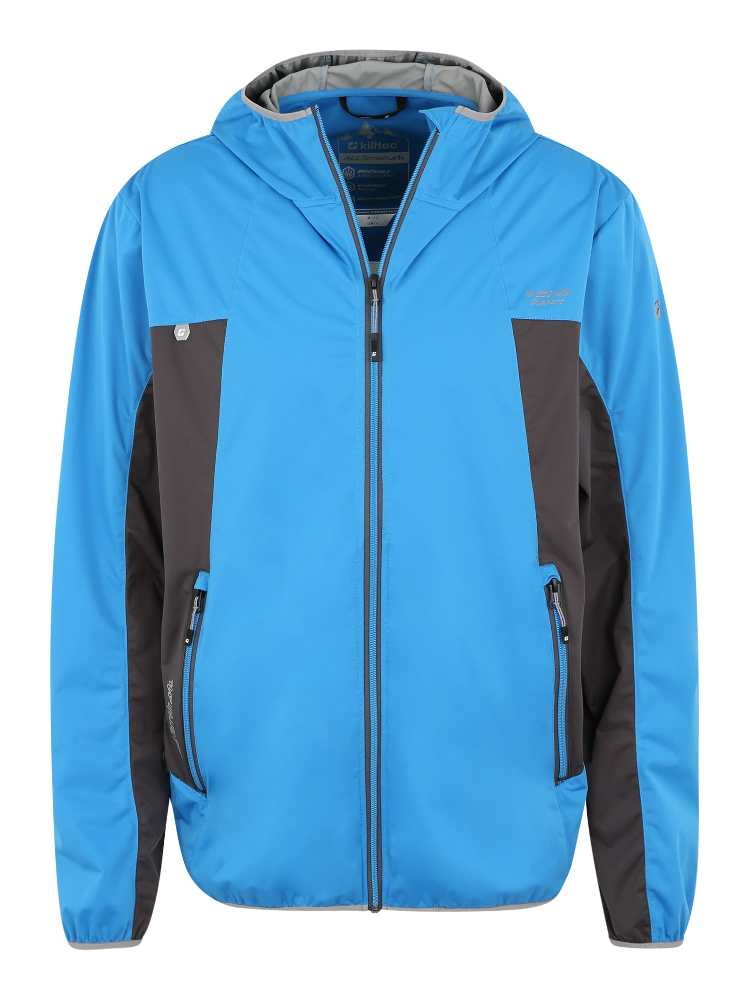 KILLTEC Sportinė striukė 'Jerik' mėlyna