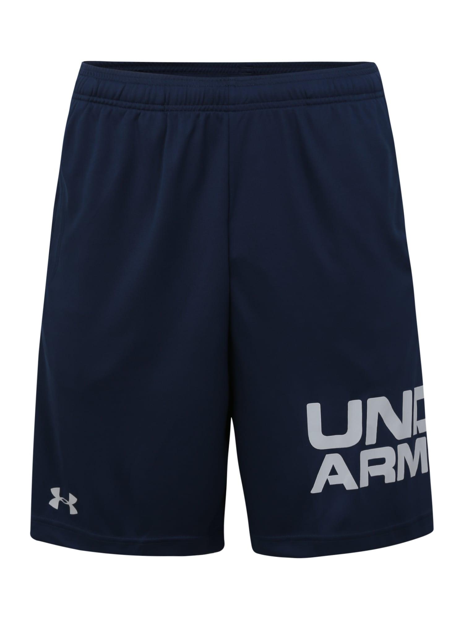 UNDER ARMOUR Sportinės kelnės pilka / tamsiai mėlyna
