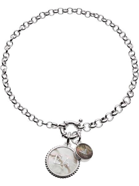 Armbaender für Frauen - Emporio Armani Armband 'EG3357040' silber  - Onlineshop ABOUT YOU