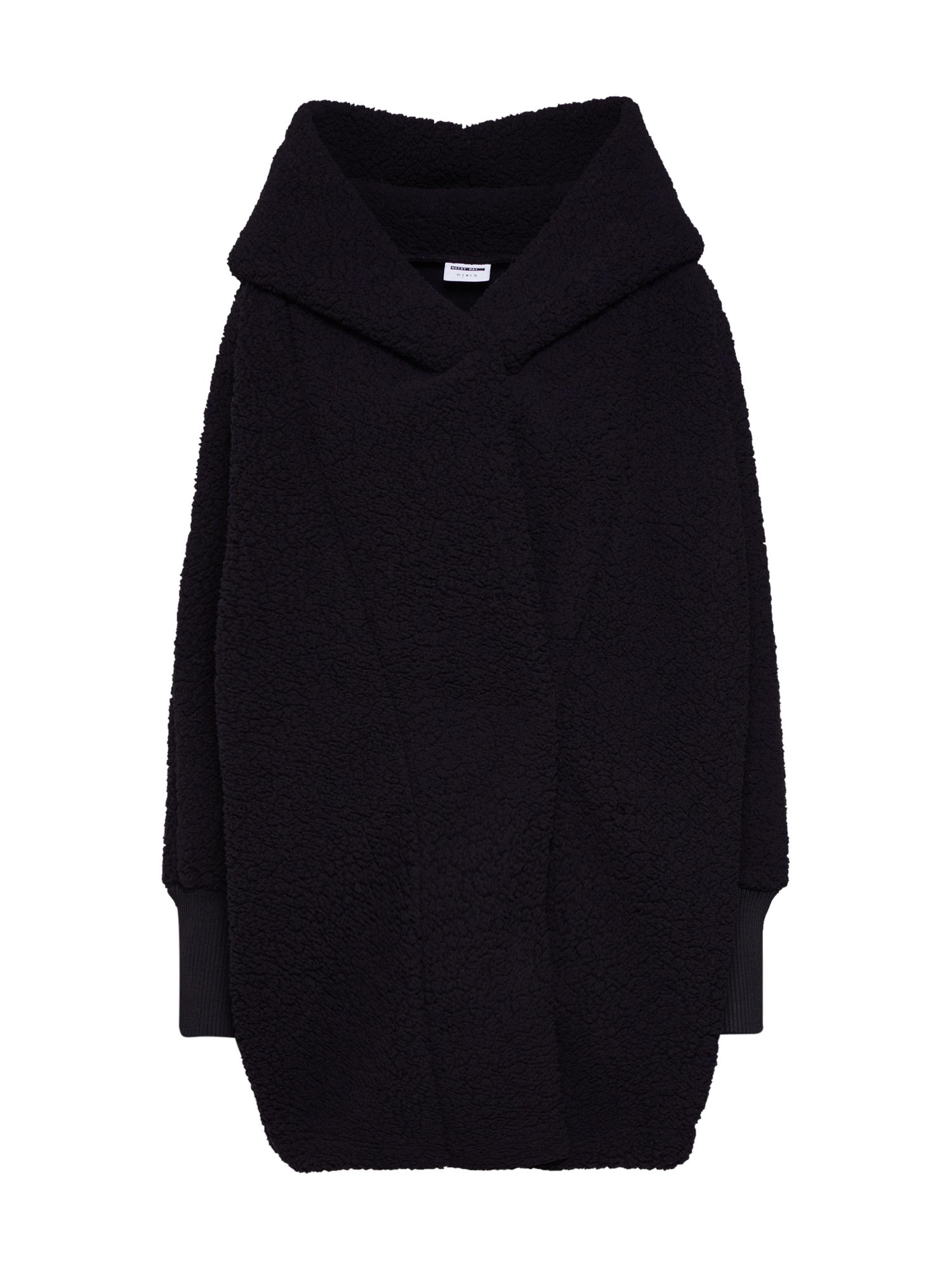 Noisy may Přechodný kabát 'Cuddle'  černá