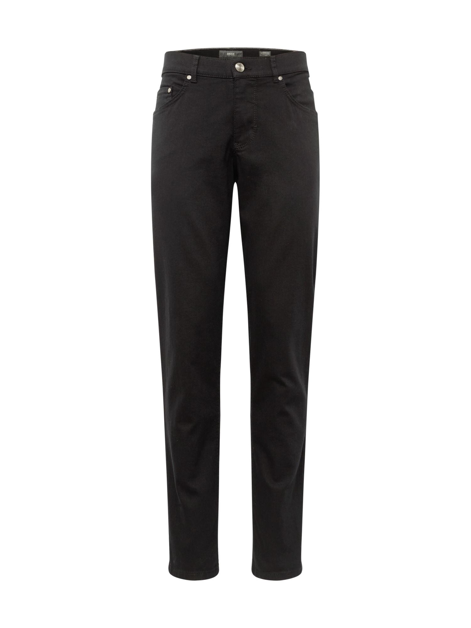 BRAX Džinsai juodo džinso spalva