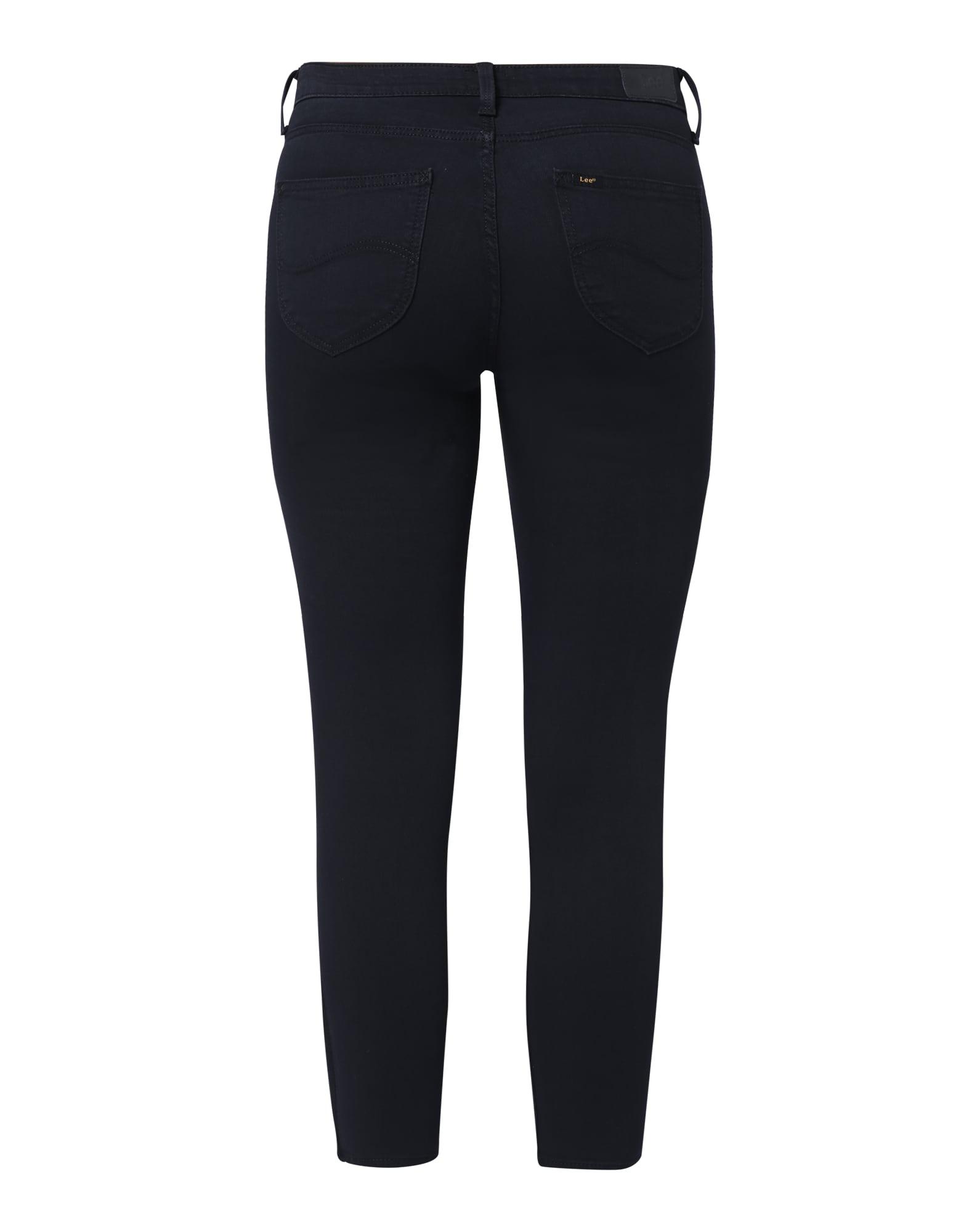 Lee Jeans 'Scarlett Cropped'  svart denim