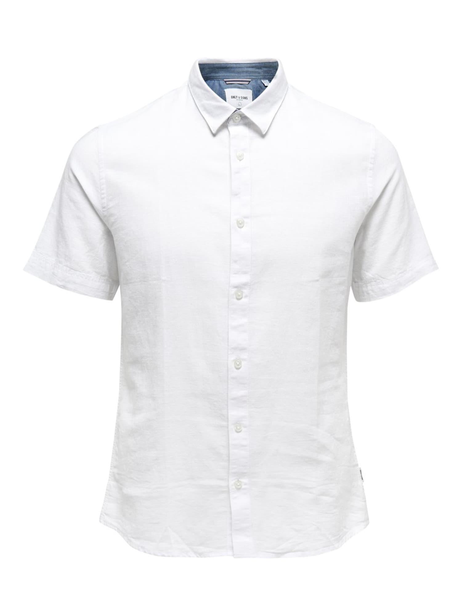 Only & Sons Big & Tall Marškiniai balta