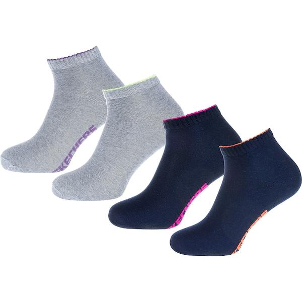 Socken für Frauen - SKECHERS Socken nachtblau grau  - Onlineshop ABOUT YOU
