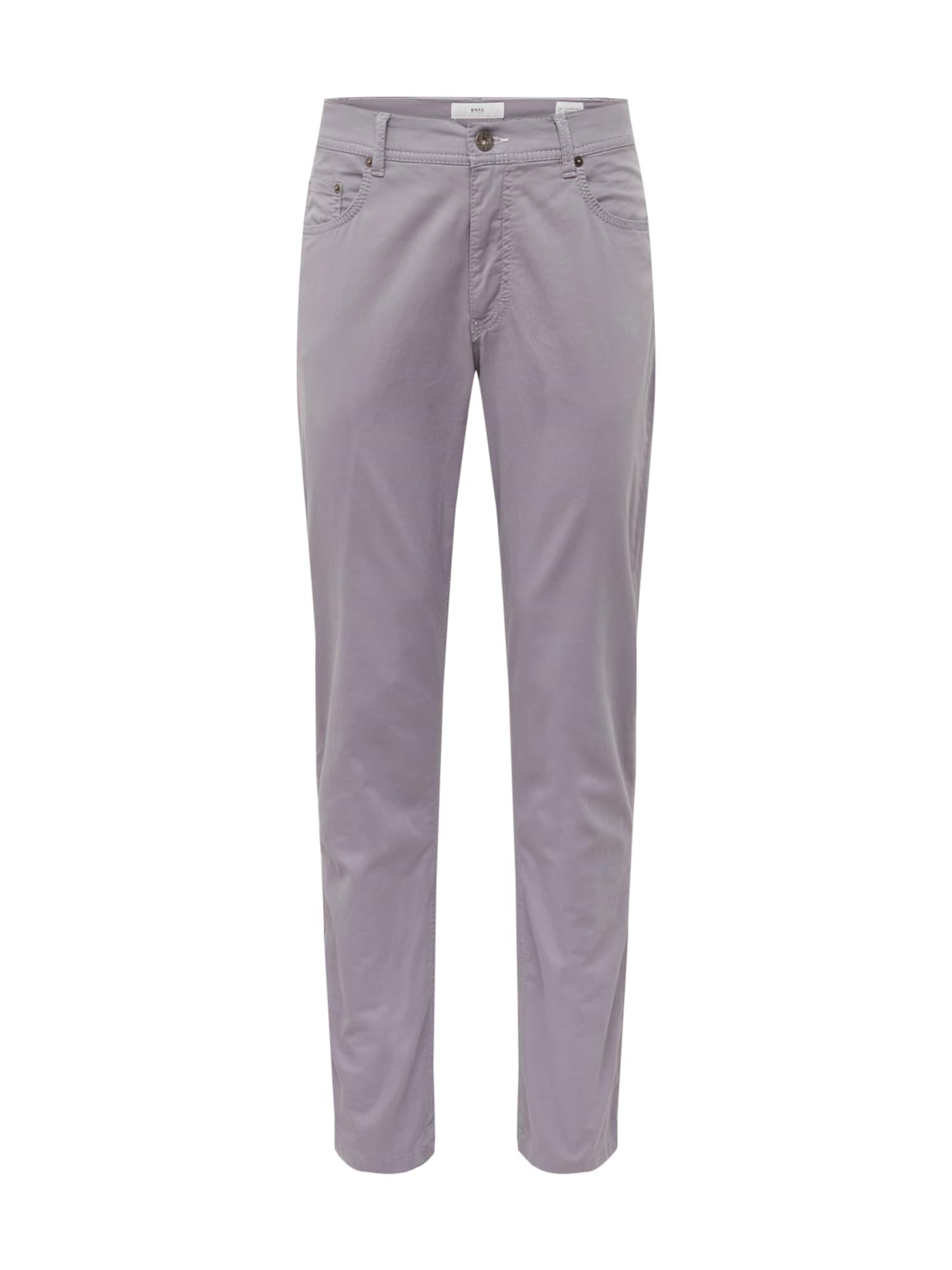 Kalhoty cooper fancy světle šedá BRAX