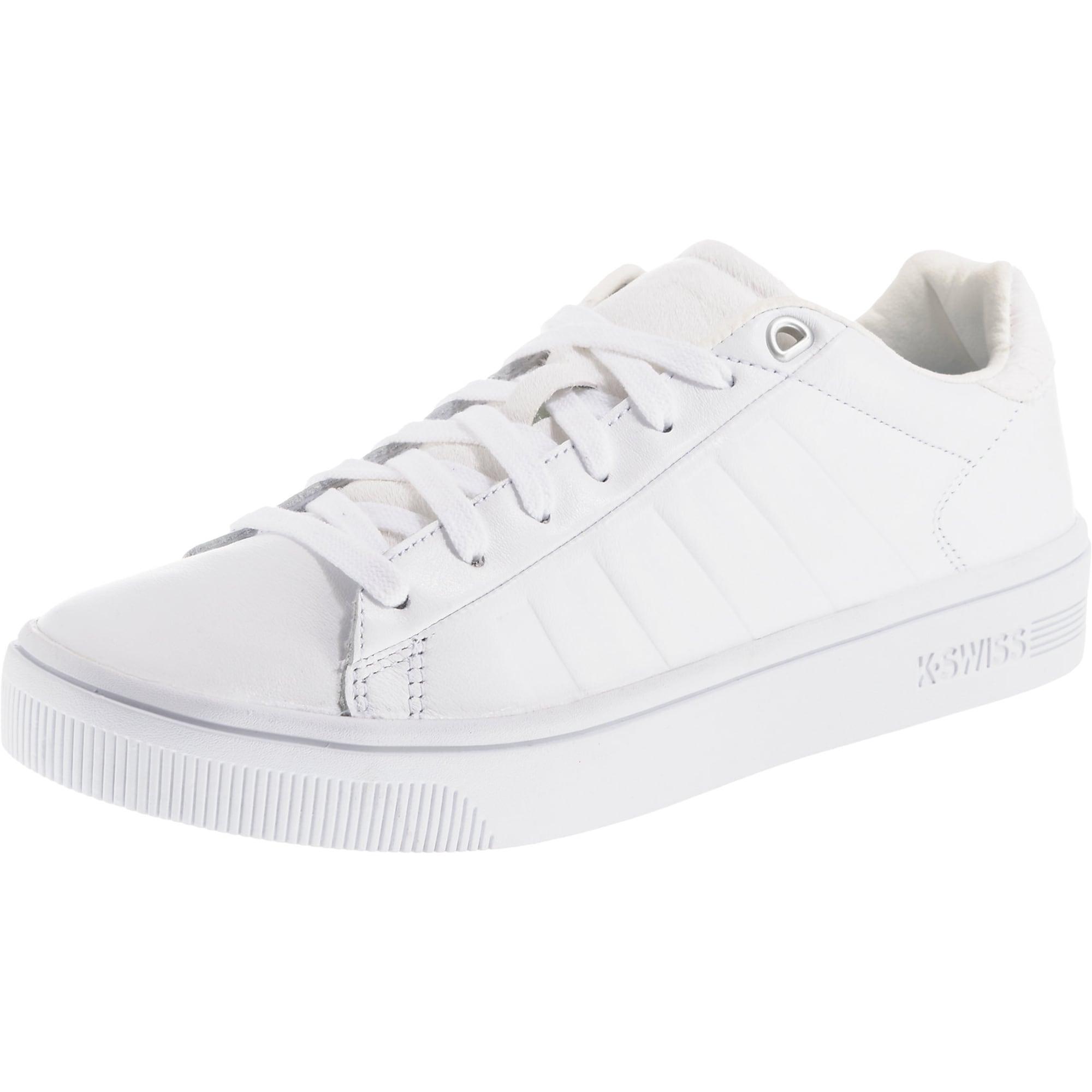AboutYou | Damen K SWISS Sneaker 'Clean Court CMF' weiß