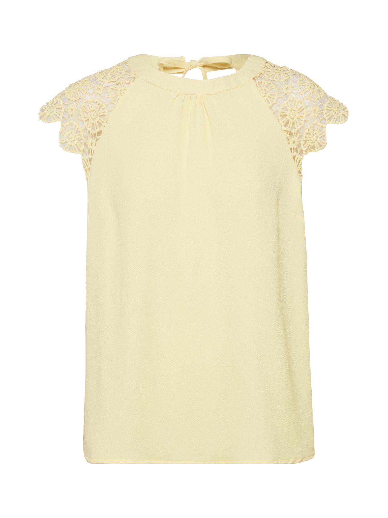 ABOUT YOU Marškinėliai 'Anja' geltona