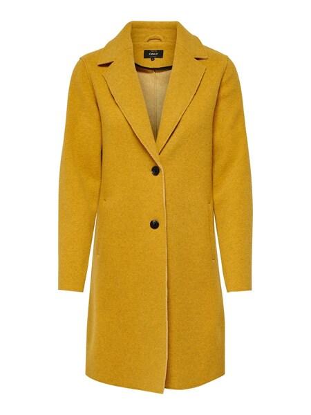 Jacken für Frauen - ONLY Mantel senf  - Onlineshop ABOUT YOU