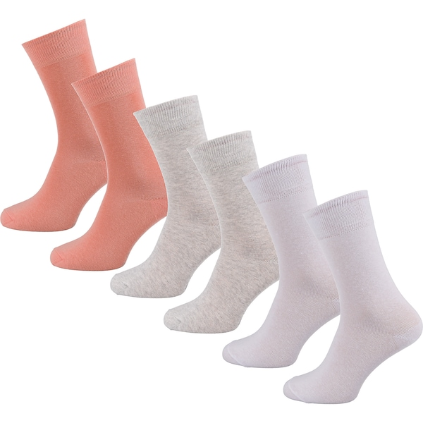 Socken - Socken › s.Oliver › grau koralle weiß  - Onlineshop ABOUT YOU