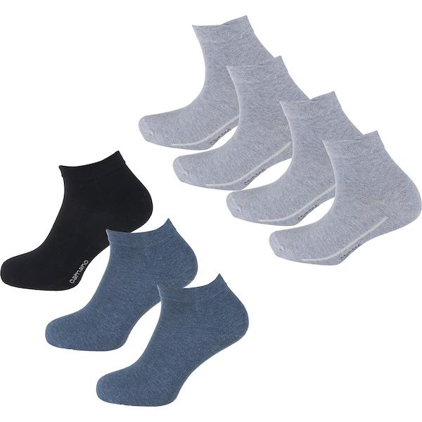 Socken für Frauen - Kurzsocken › Camano › blau hellgrau schwarz  - Onlineshop ABOUT YOU