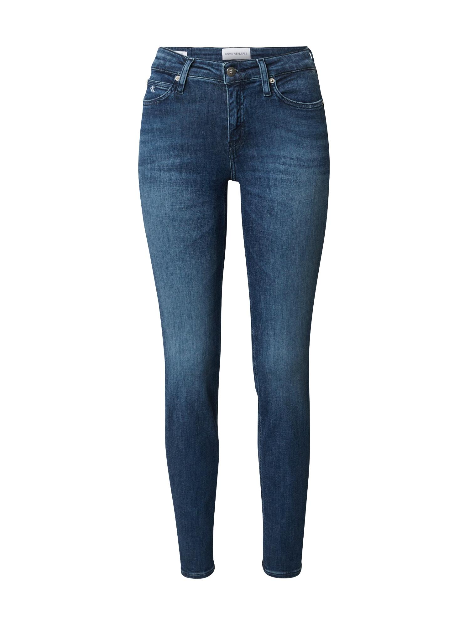 Calvin Klein Jeans Džíny 'RISE'  modrá džínovina