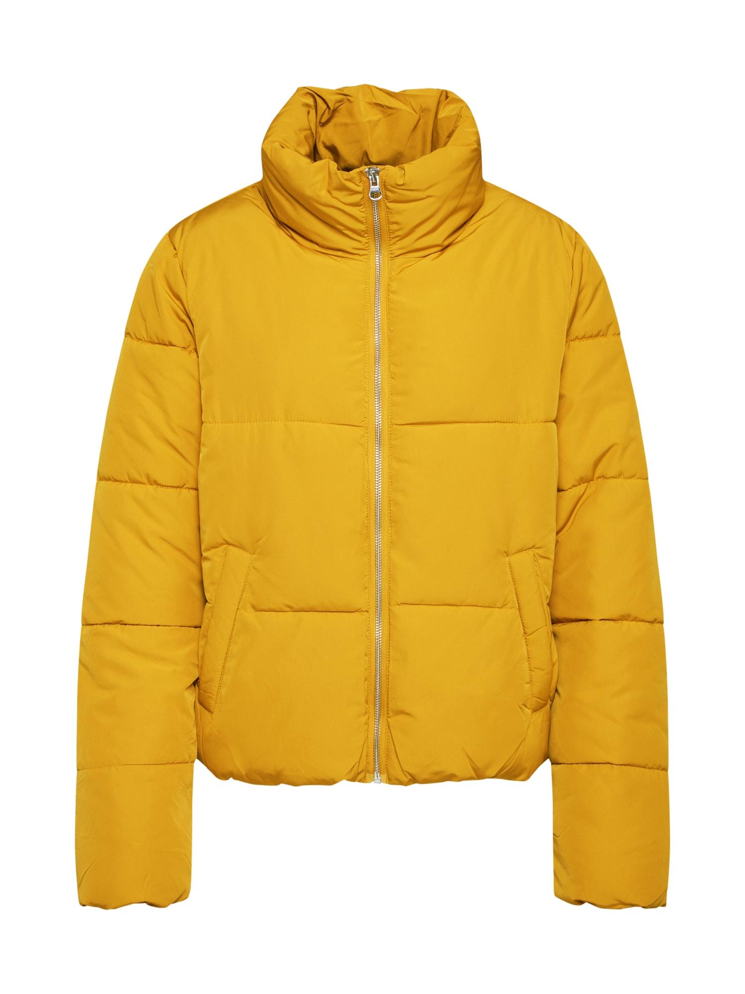 JDY Demisezoninė striukė garstyčių spalva / šafrano spalva / tamsiai geltona