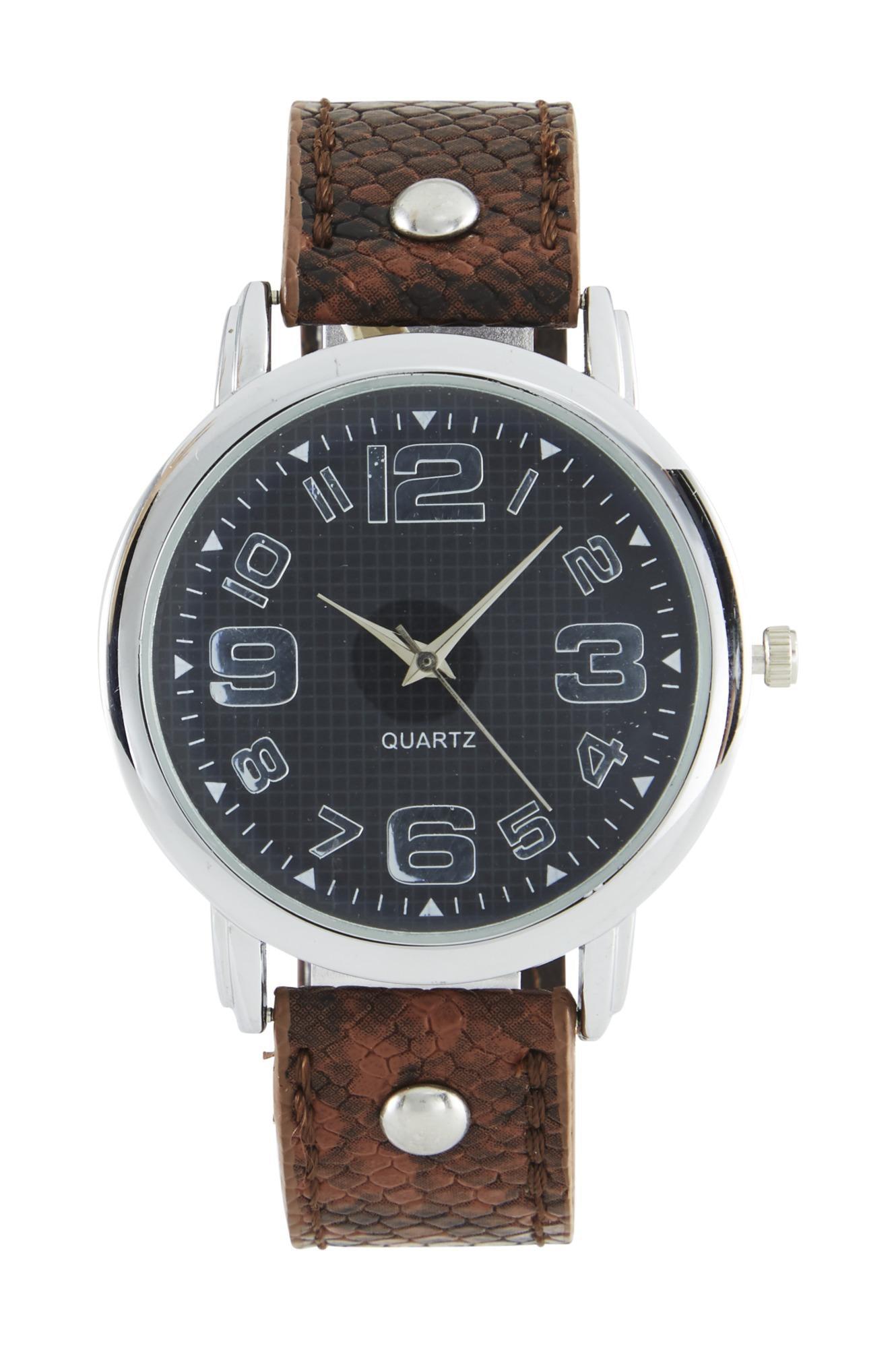 heine Analoginis (įprasto dizaino) laikrodis ruda