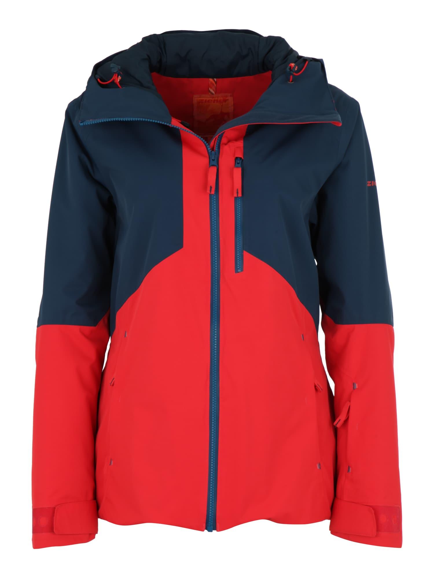 Sportovní bunda THERA námořnická modř červená ZIENER