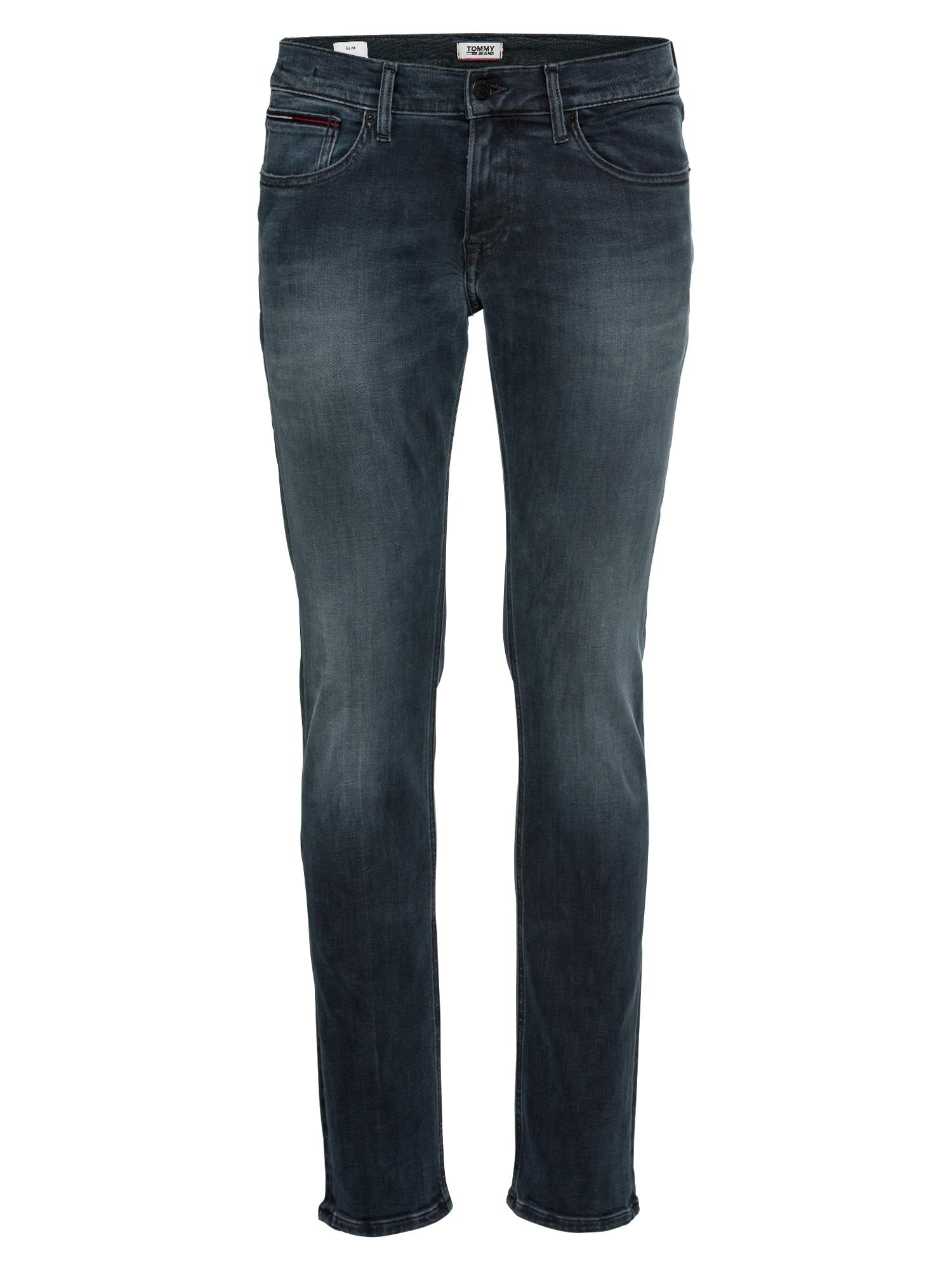 Džíny SLIM SCANTON DYMBK černá džínovina Tommy Jeans