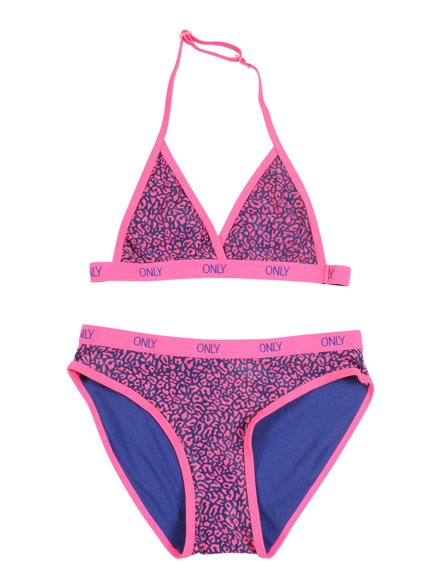 KIDS ONLY Bikinis rožinė