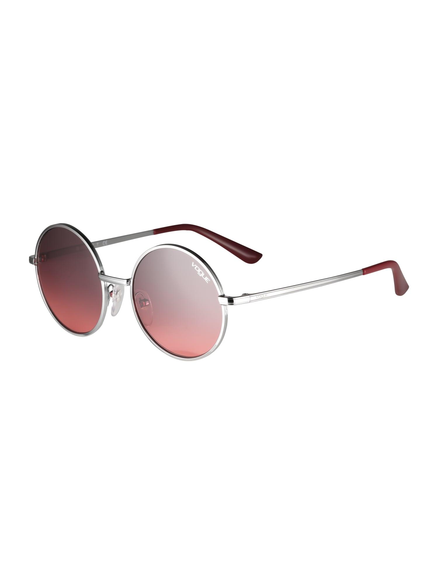 Sluneční brýle pink stříbrná VOGUE Eyewear