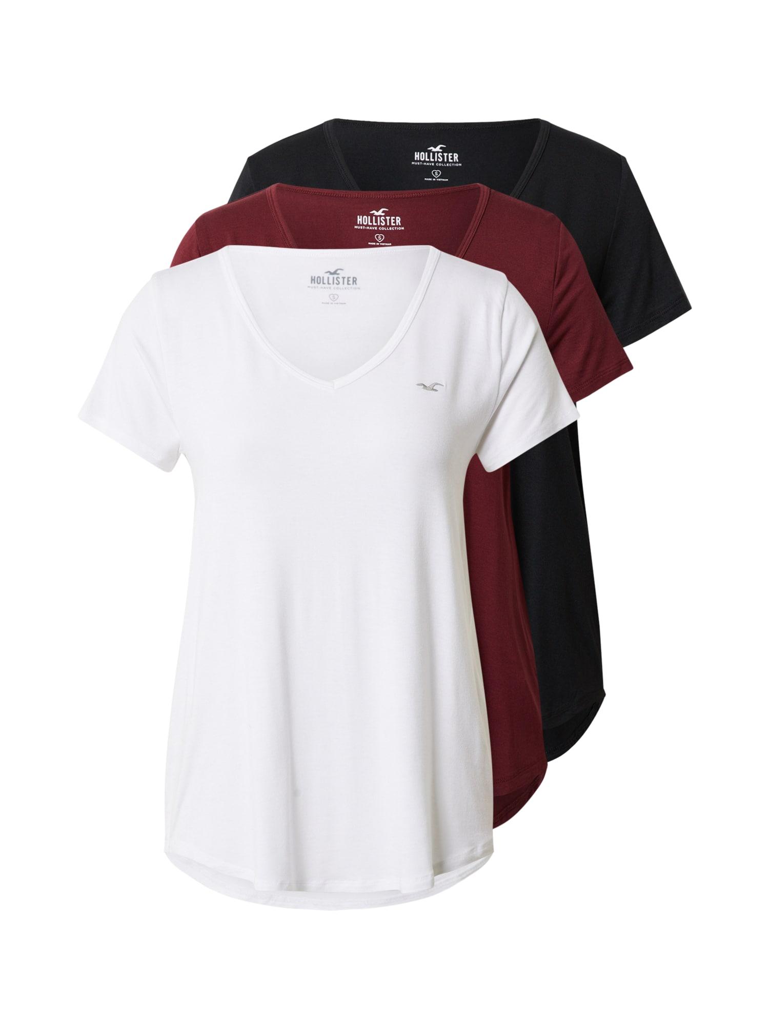 HOLLISTER Marškinėliai balta