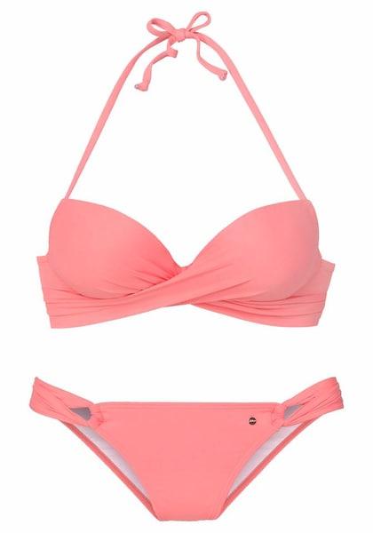 Bademode für Frauen - S.Oliver Bikini rosa  - Onlineshop ABOUT YOU
