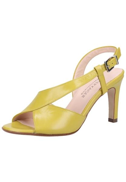 Sandalen für Frauen - PETER KAISER Sandalen gelb  - Onlineshop ABOUT YOU