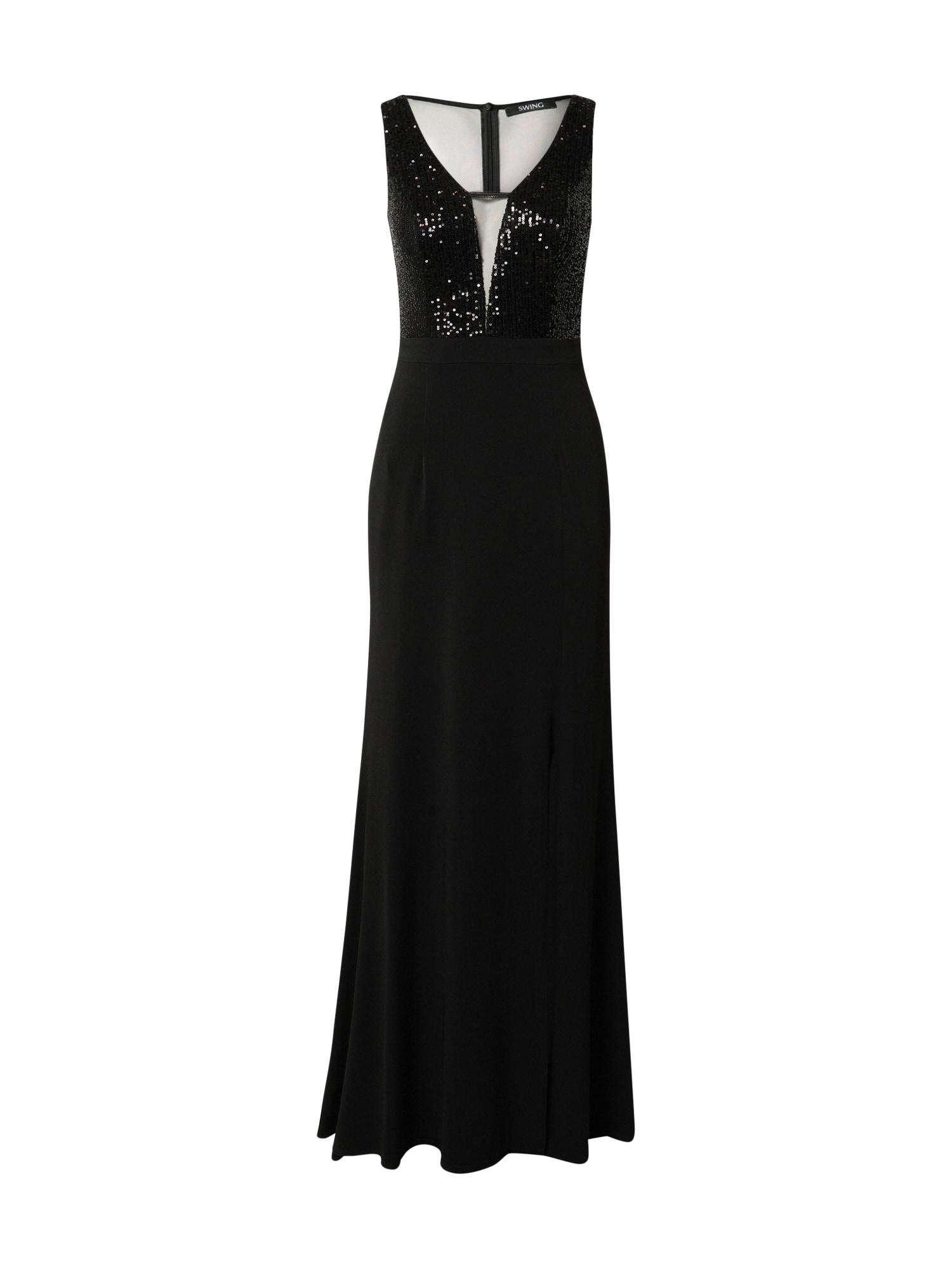 SWING Suknelė juoda
