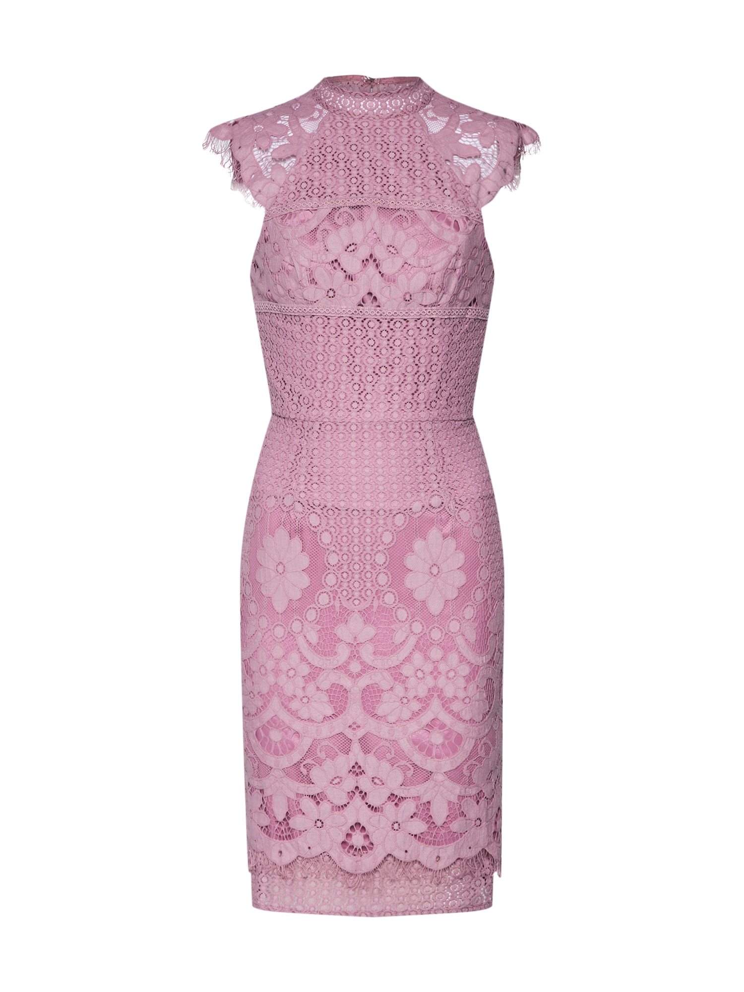 Šaty Ebonhie bledě fialová Chi Chi London