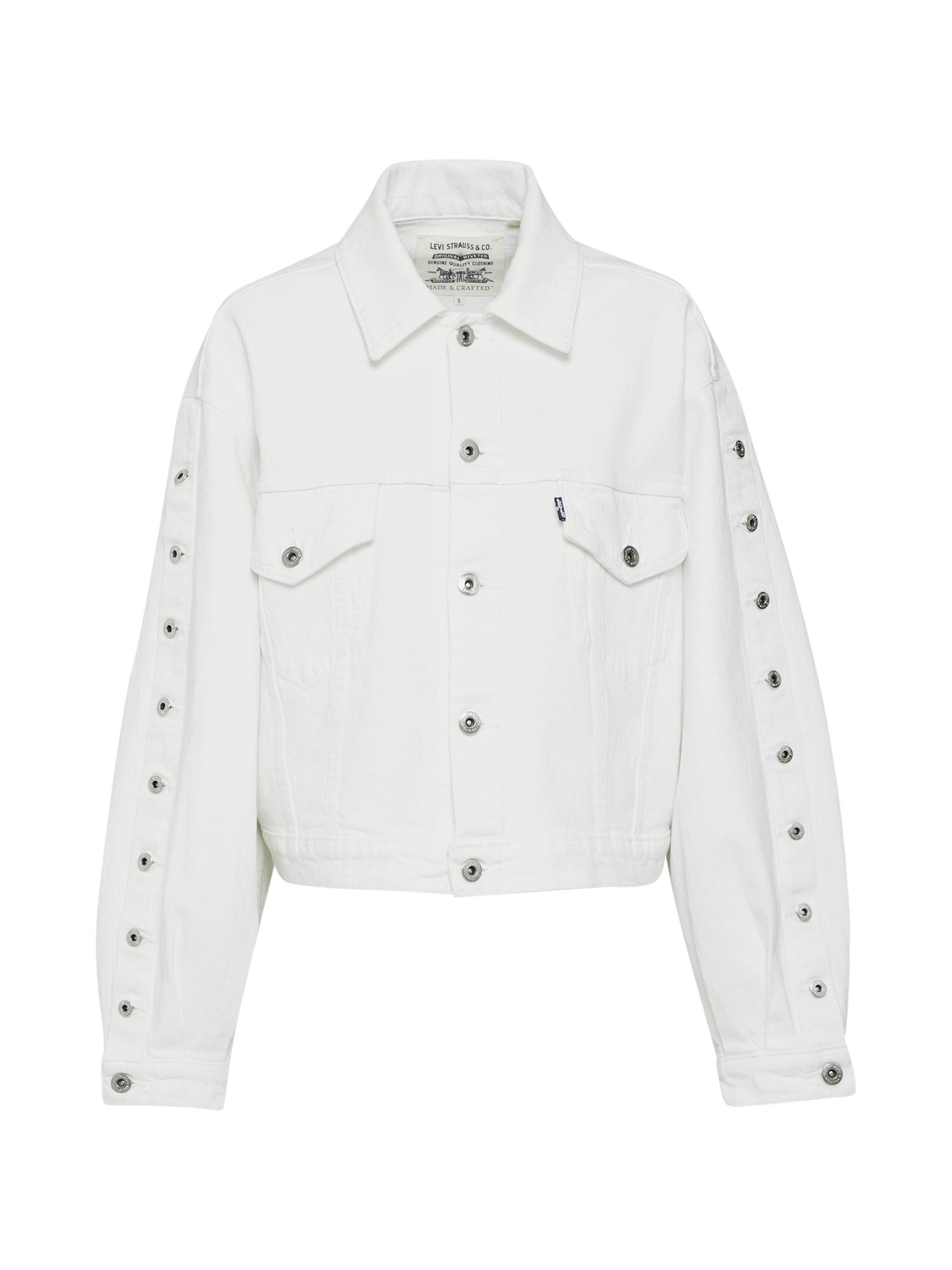 Levis Made & Crafted Přechodná bunda bílá Levi's Made & Crafted