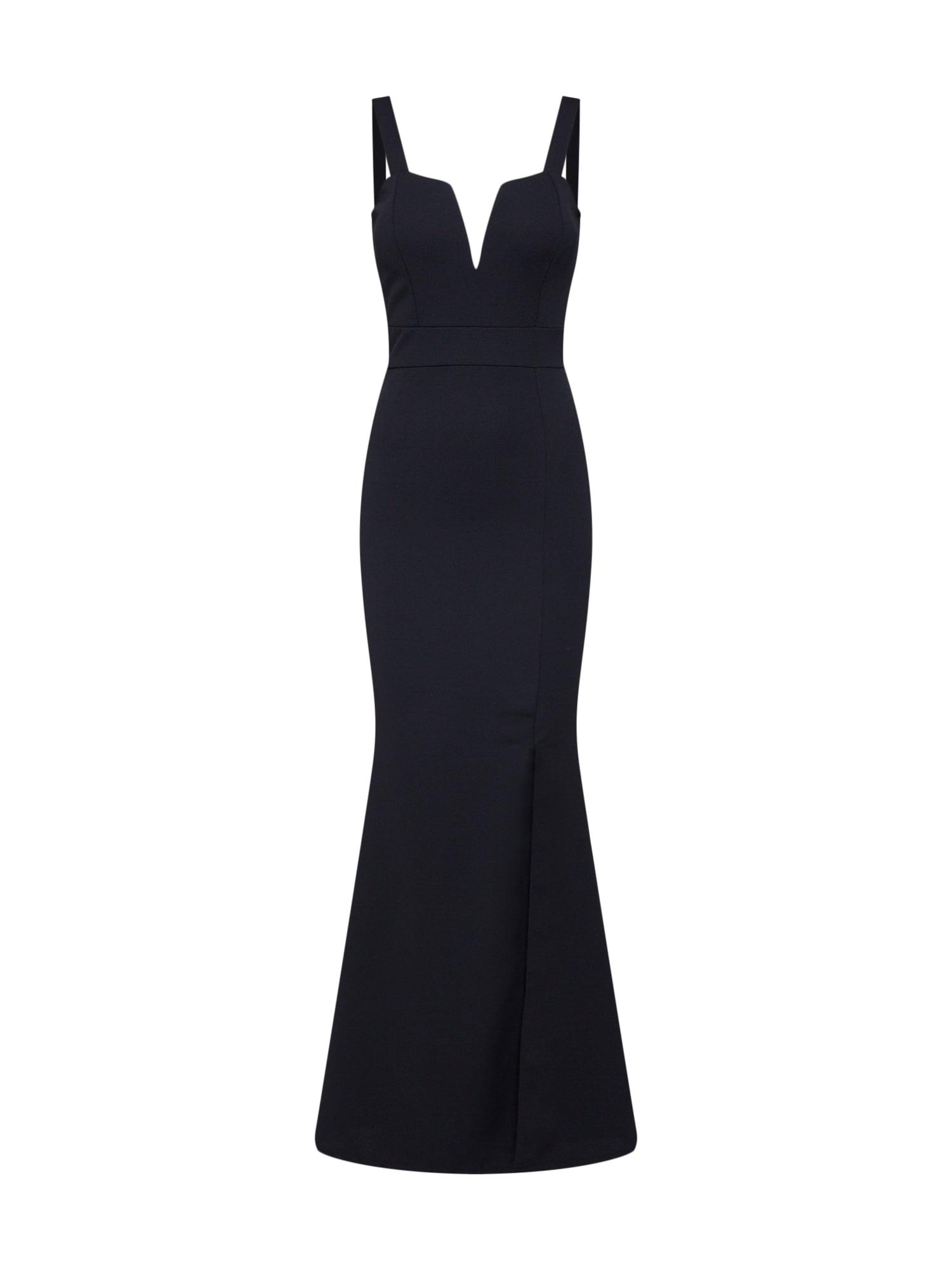WAL G. Vakarinė suknelė juoda
