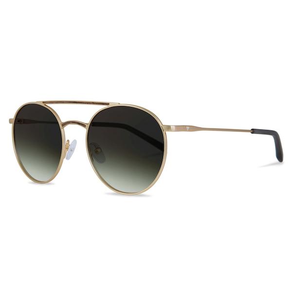 Sonnenbrillen für Frauen - Kerbholz Sonnenbrille 'John' gold grün  - Onlineshop ABOUT YOU