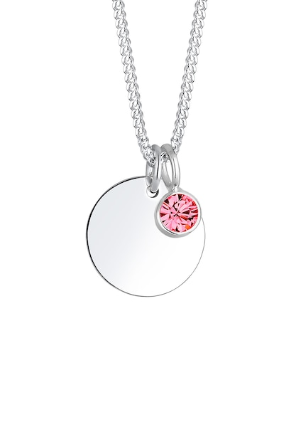 Ketten für Frauen - ELLI Halskette pink silber  - Onlineshop ABOUT YOU