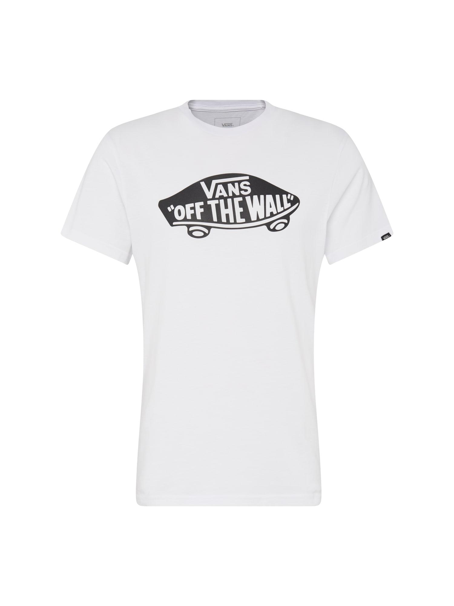 VANS Marškinėliai antracito / balta