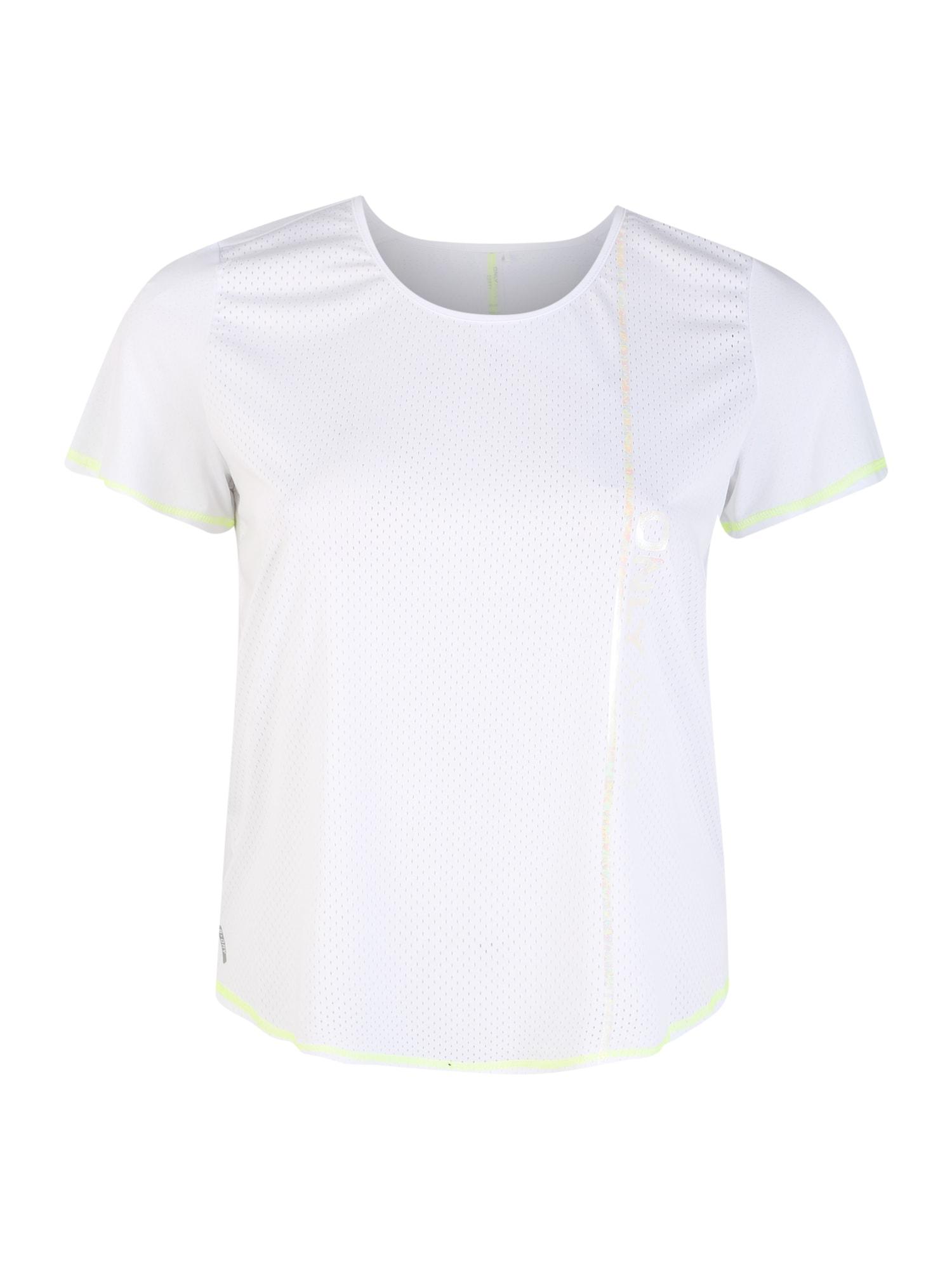 Only Play Curvy Funkčné tričko  biela