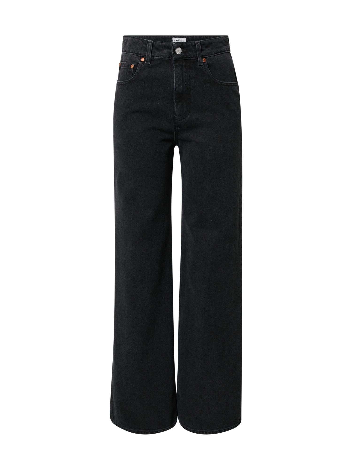 Global Funk Džinsai juodo džinso spalva