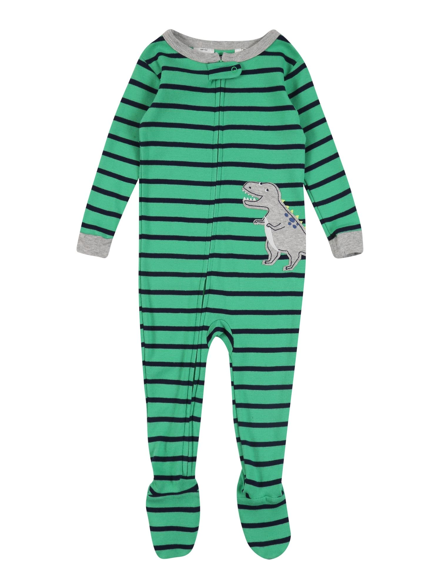 Carter's Miego kostiumas 'Annual Dino' žalia / mišrios spalvos