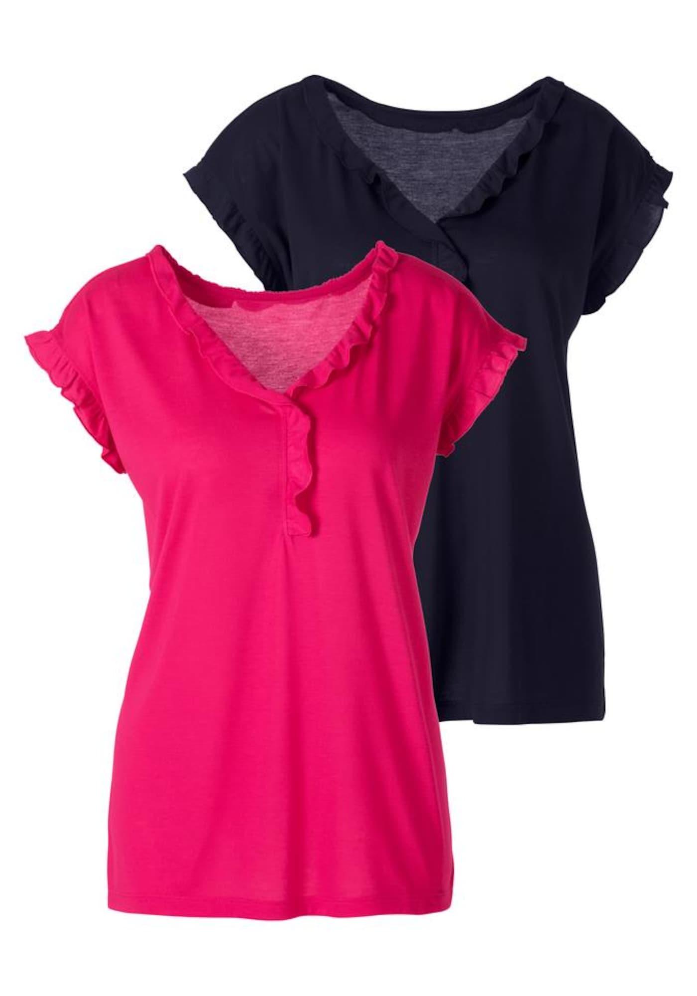 BEACH TIME Marškinėliai mišrios spalvos