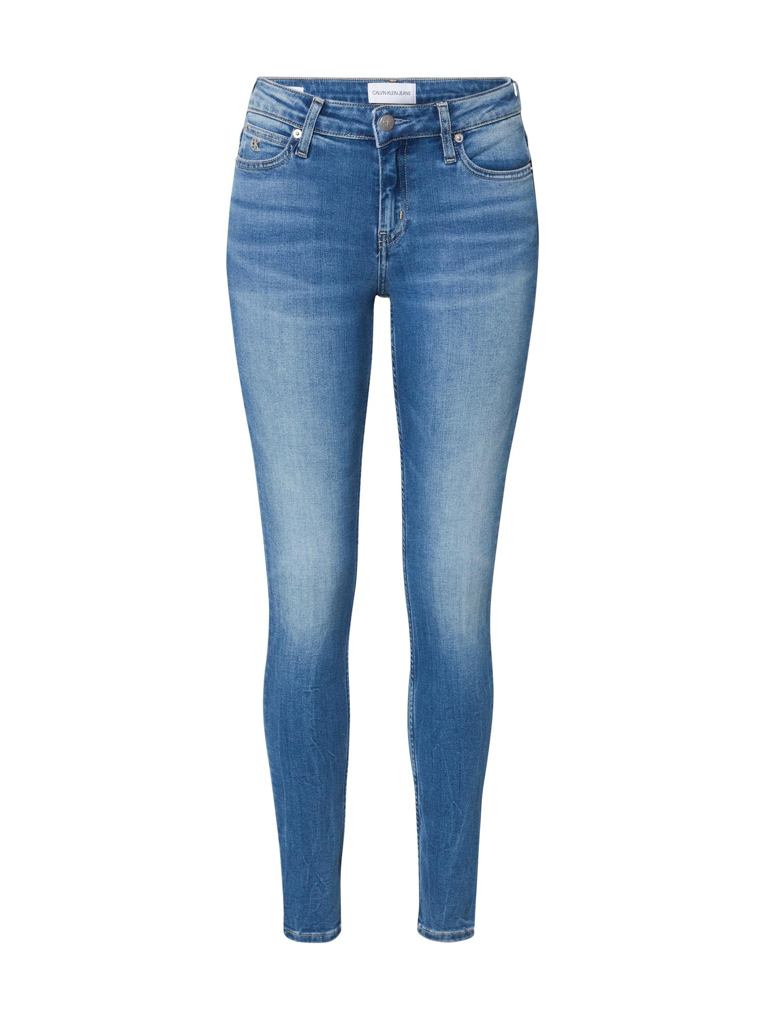 Calvin Klein Džinsai 'CKJ 001' tamsiai (džinso) mėlyna