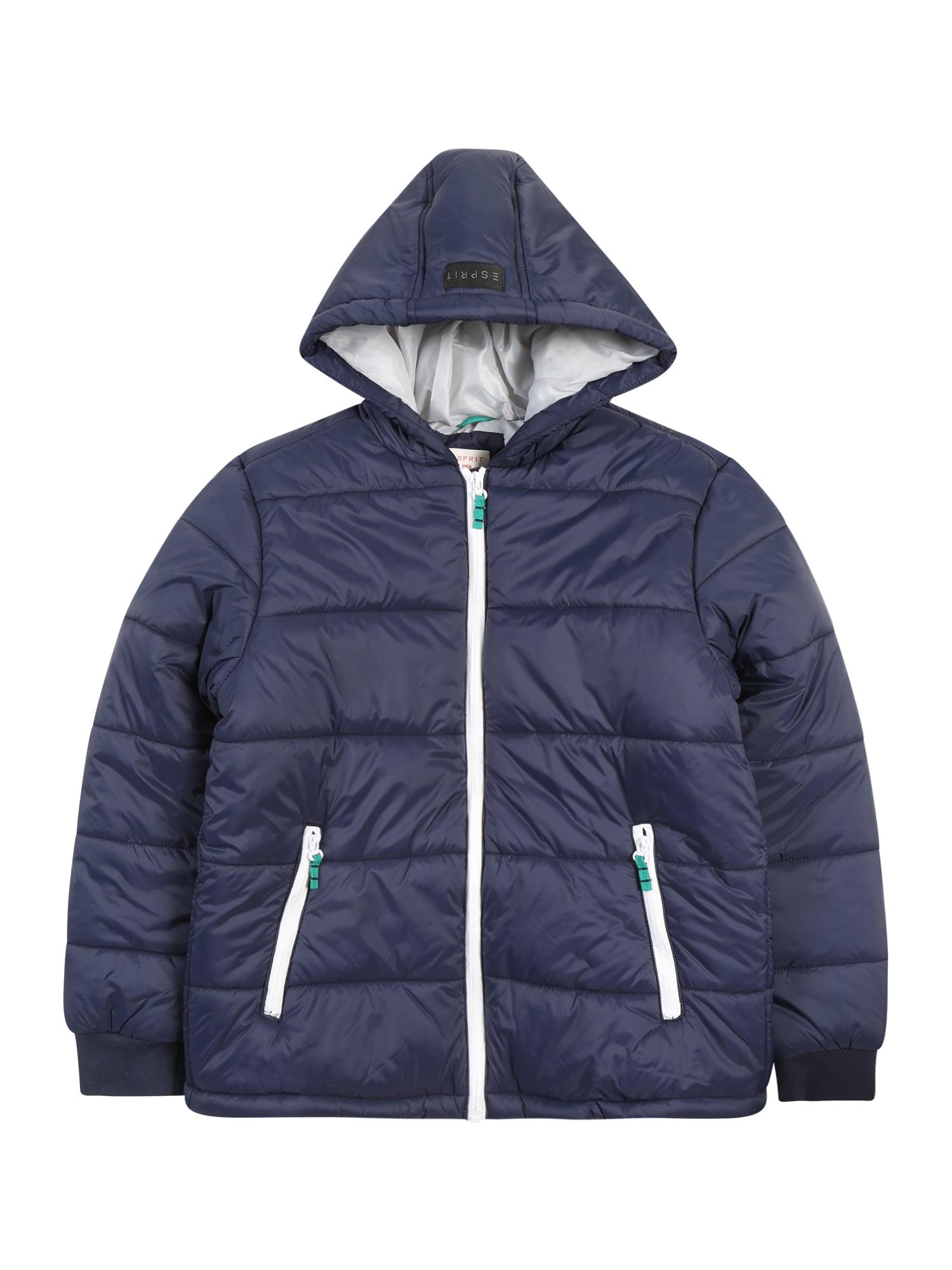 ESPRIT Žieminė striukė tamsiai mėlyna