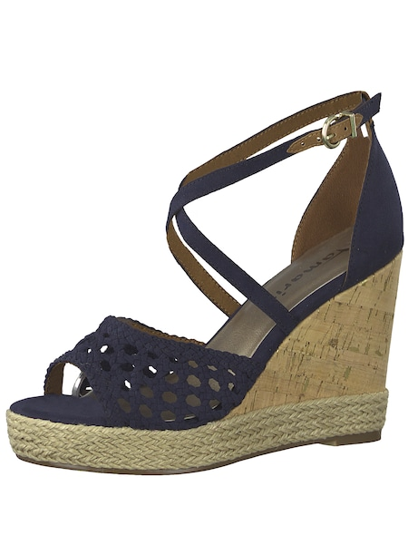 Highheels - Sandale › tamaris › navy  - Onlineshop ABOUT YOU