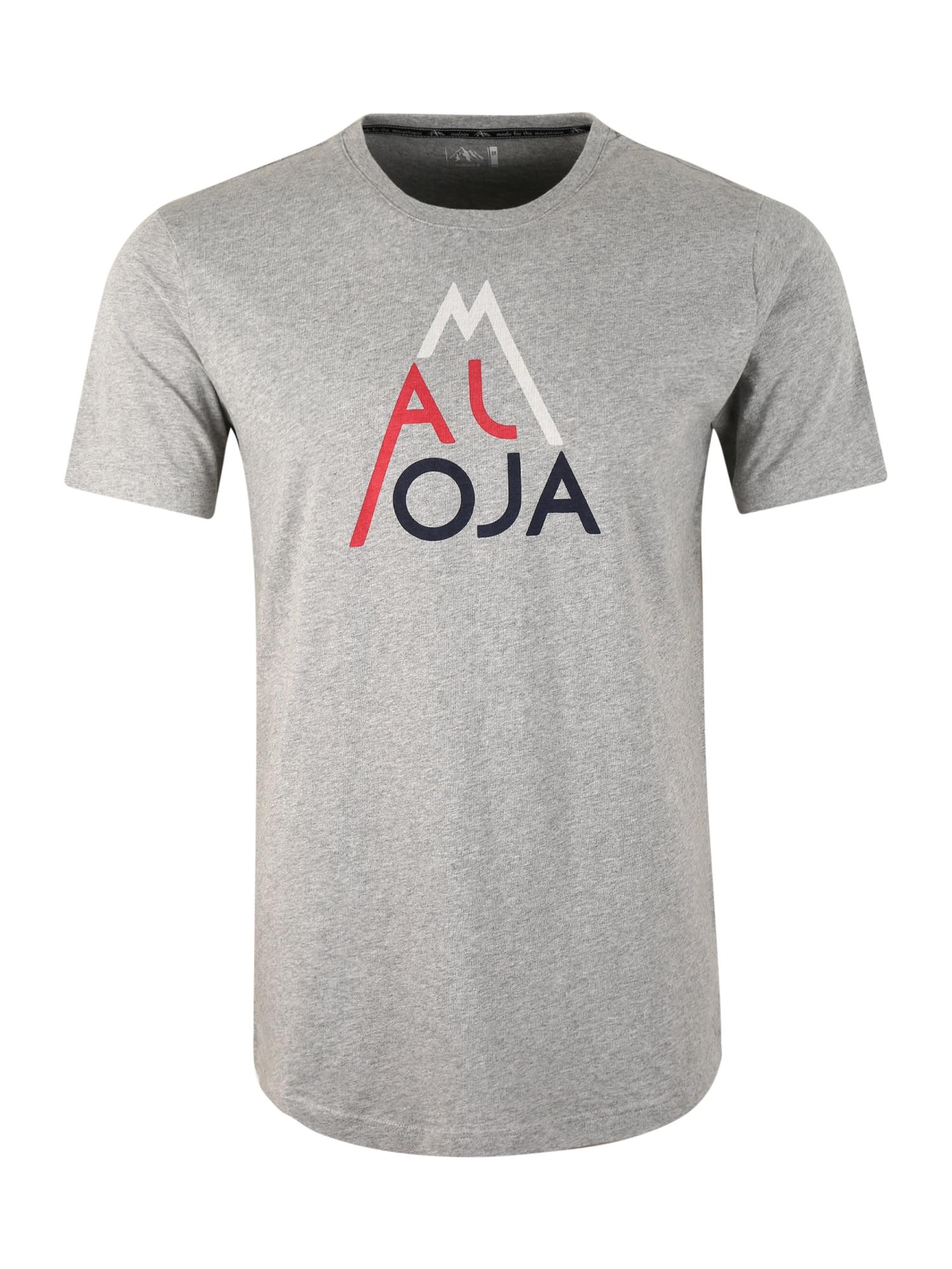 Maloja Funkční tričko 'AlvagniM'  šedá