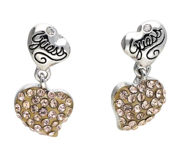 Ohrringe für Frauen - GUESS Ohrringe 'UBE21112' braun silber  - Onlineshop ABOUT YOU
