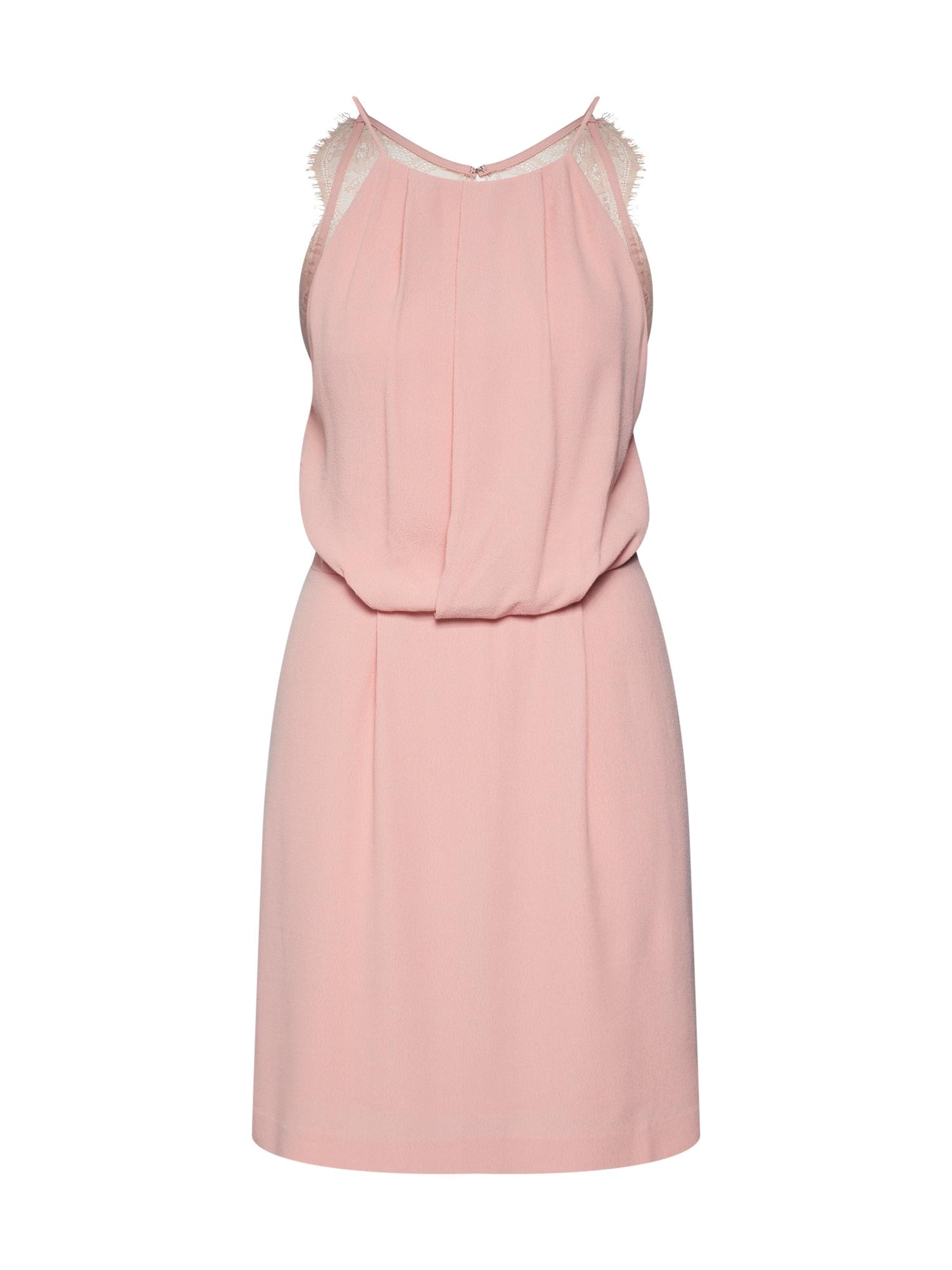 Letní šaty Willow 5687 růžová Samsoe & Samsoe