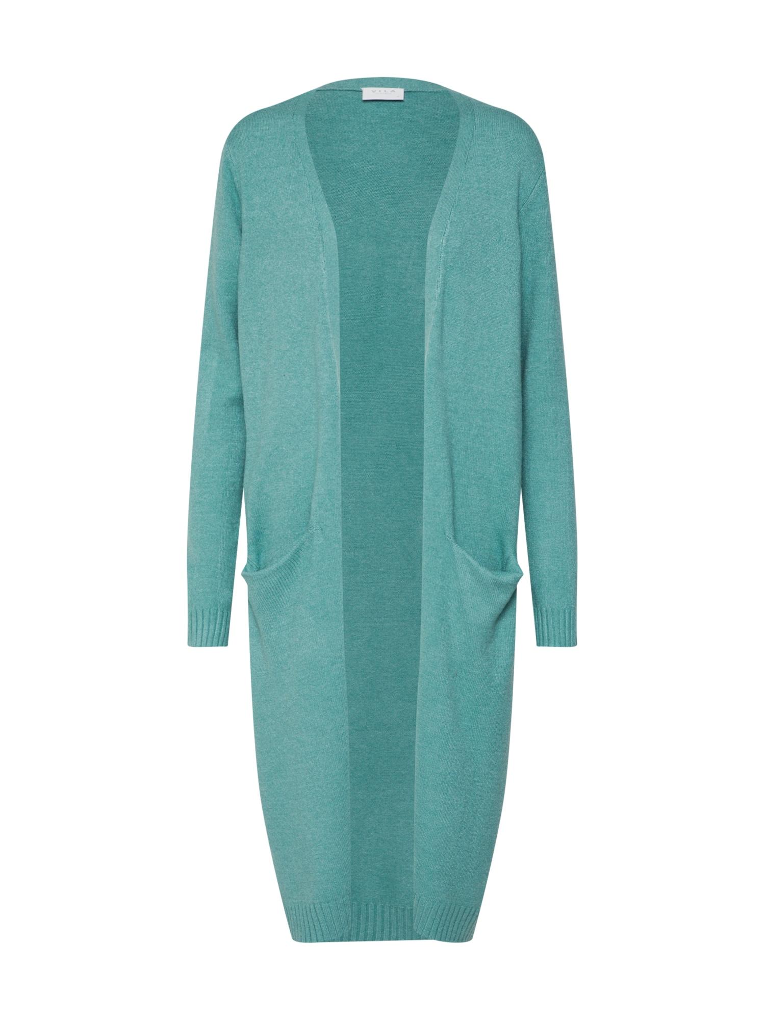 Pletený kabátek Ril nefritová VILA