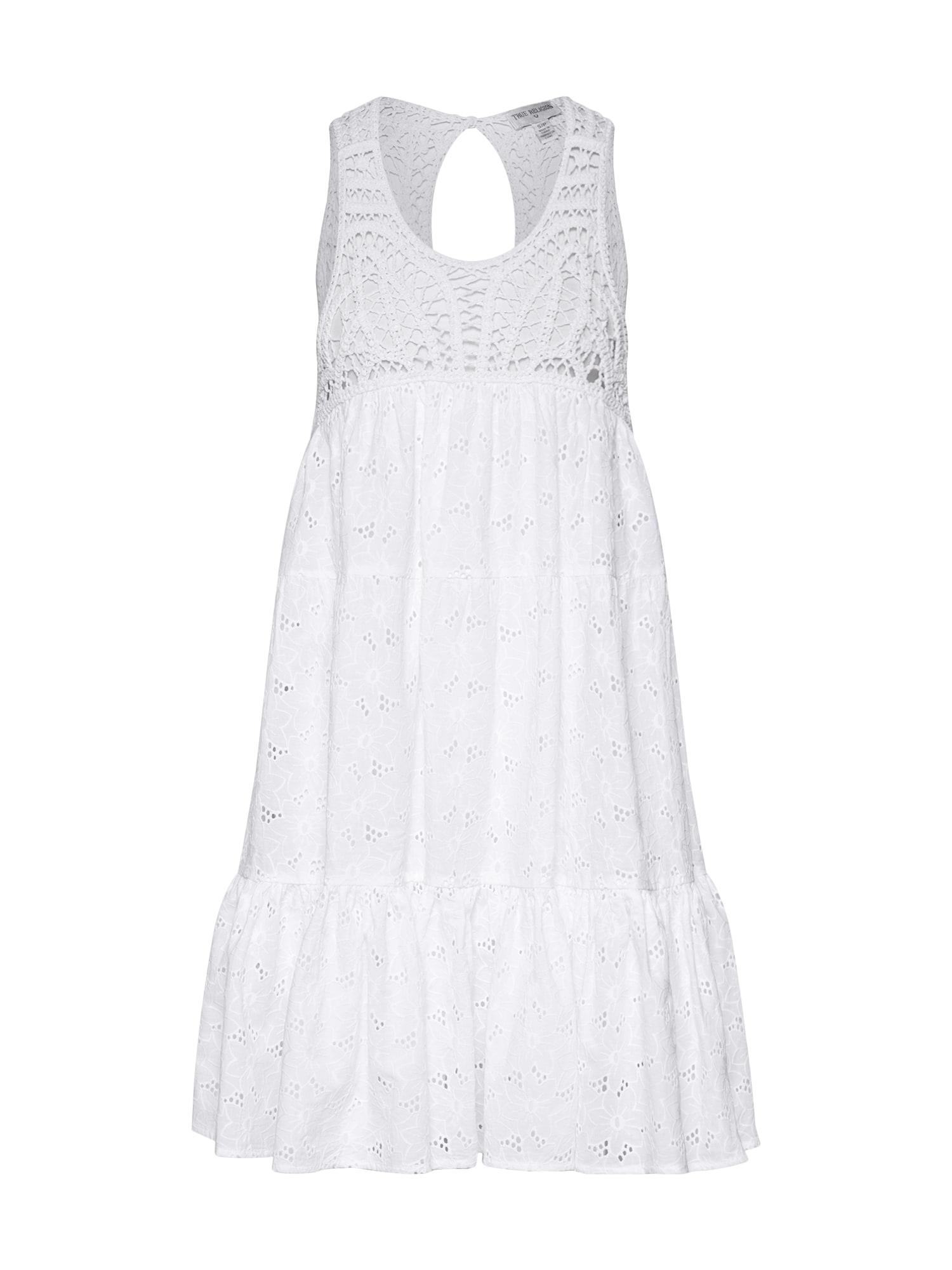Letní šaty MAGIC DRESS bílá True Religion
