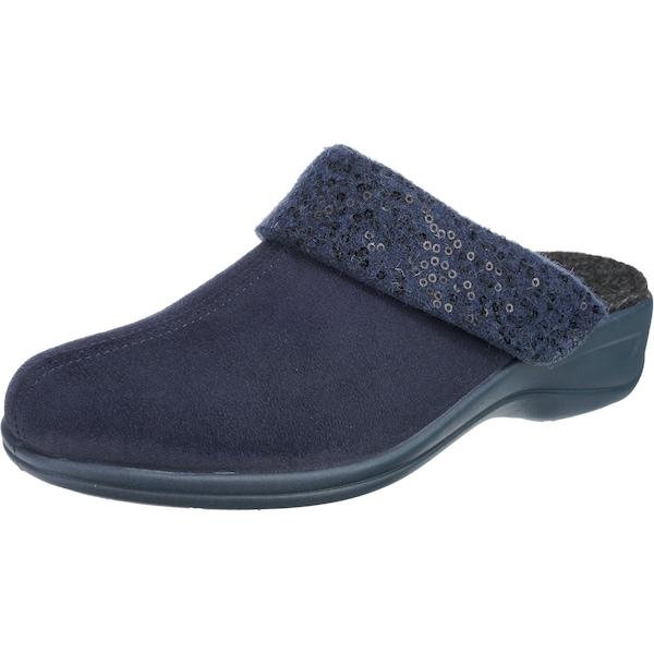 Hausschuhe für Frauen - ROHDE Pantoffeln 'Verden' nachtblau  - Onlineshop ABOUT YOU