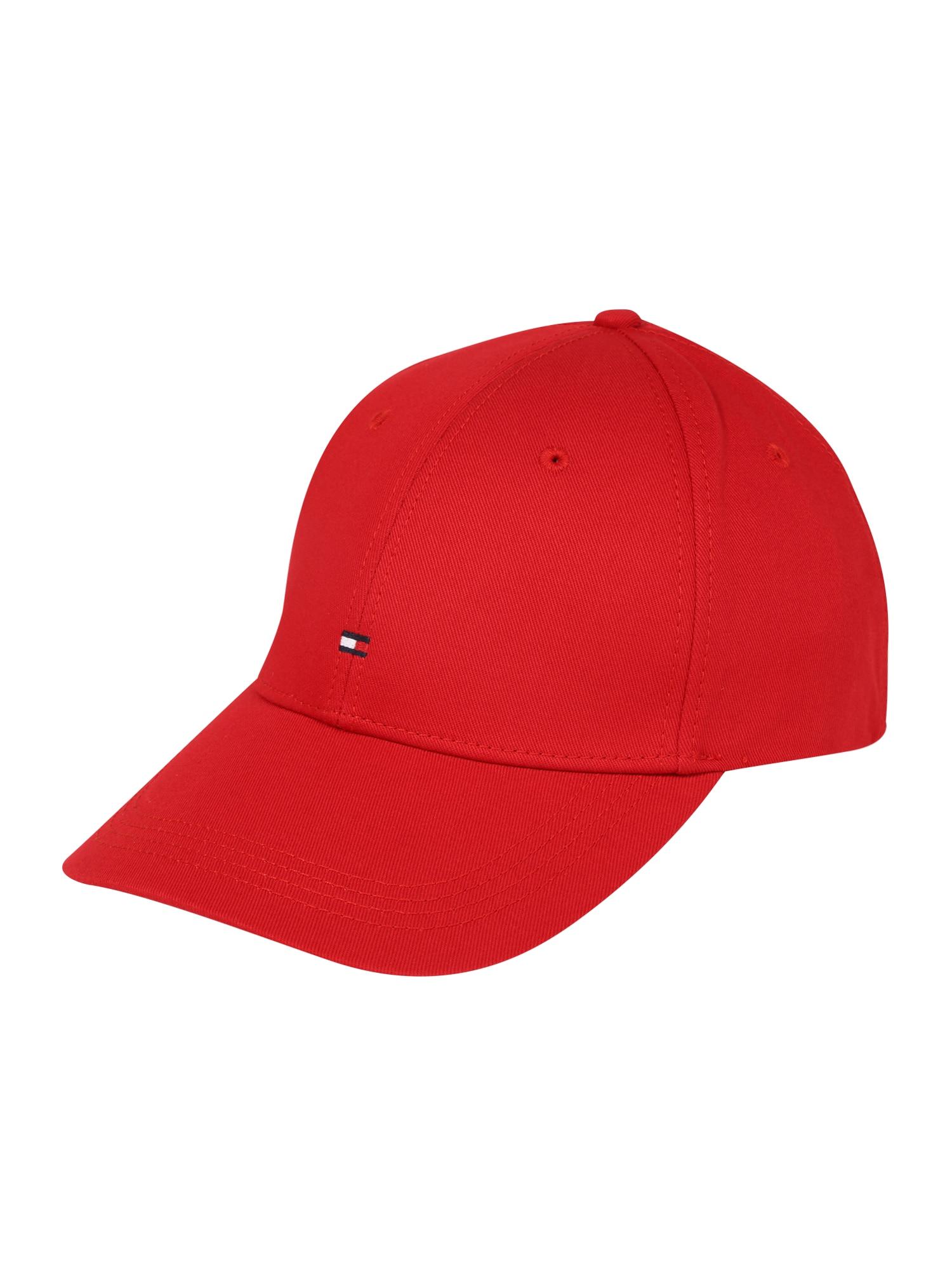TOMMY HILFIGER Kepurė 'Classic' raudona