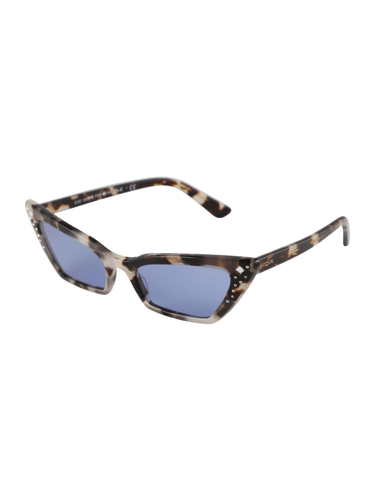 Sluneční brýle SUPER šedá fialkově modrá VOGUE Eyewear