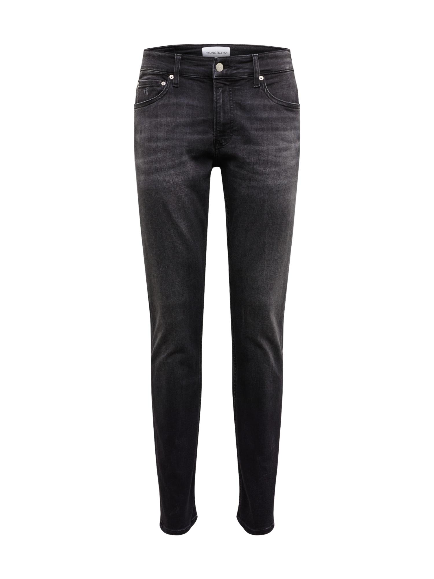 Calvin Klein Jeans Džinsai '026 SLIM' juodo džinso spalva